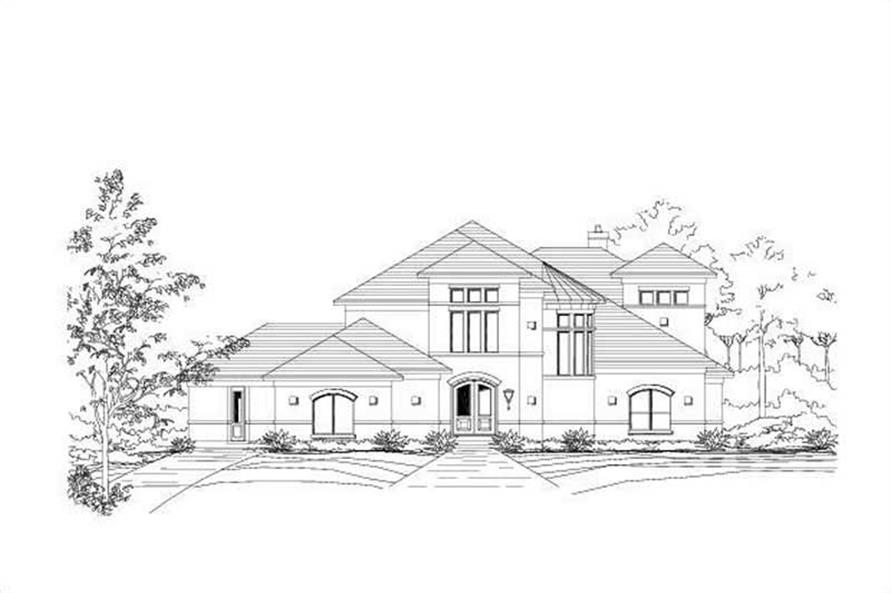 Main image for house plan # 19230