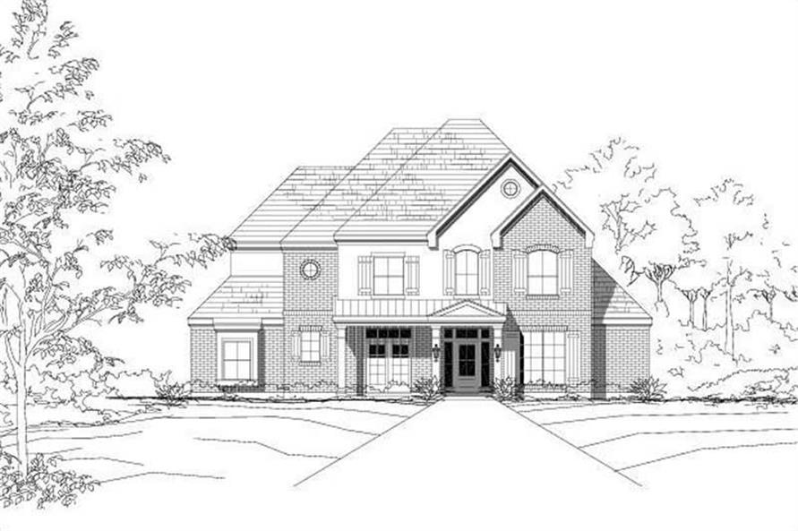 Main image for house plan # 19289