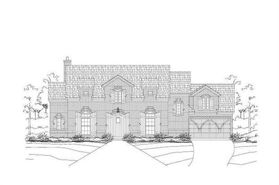 Main image for house plan # 19162