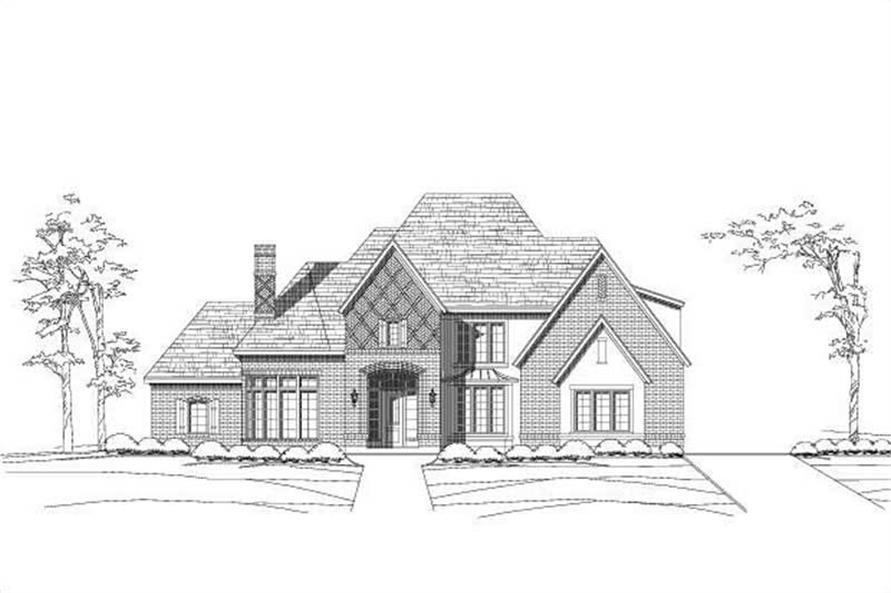 Main image for house plan # 19416