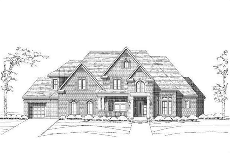 Main image for house plan # 19349