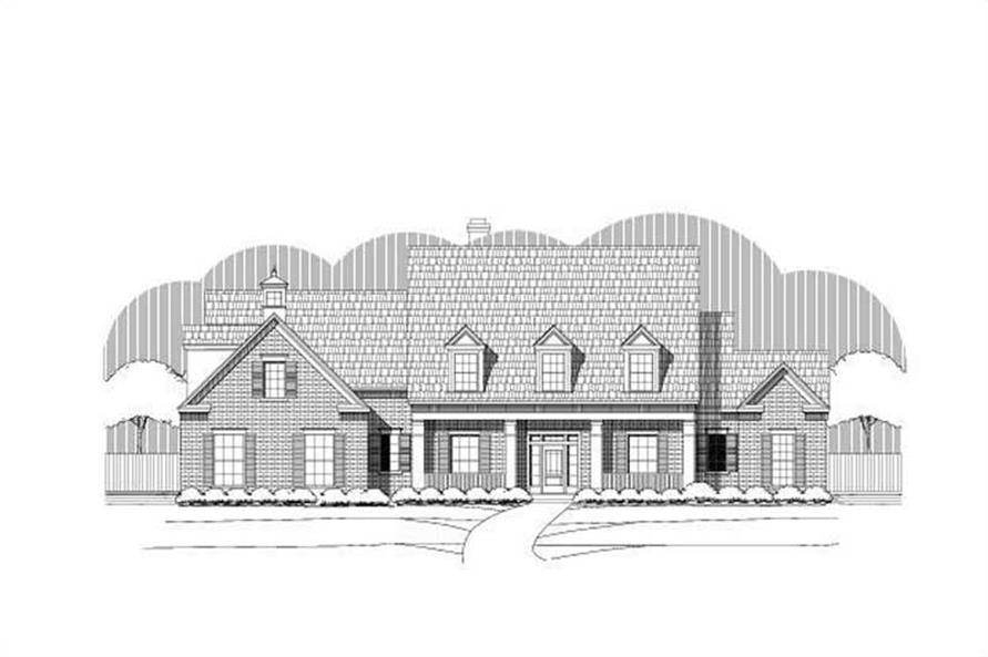 Main image for house plan # 19350