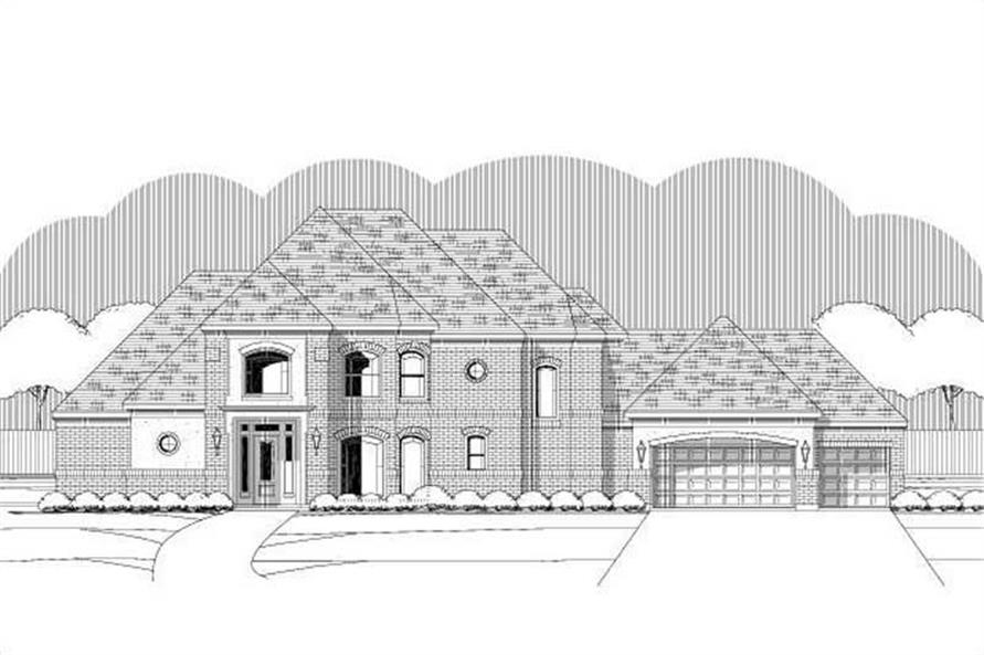 Main image for house plan # 19352