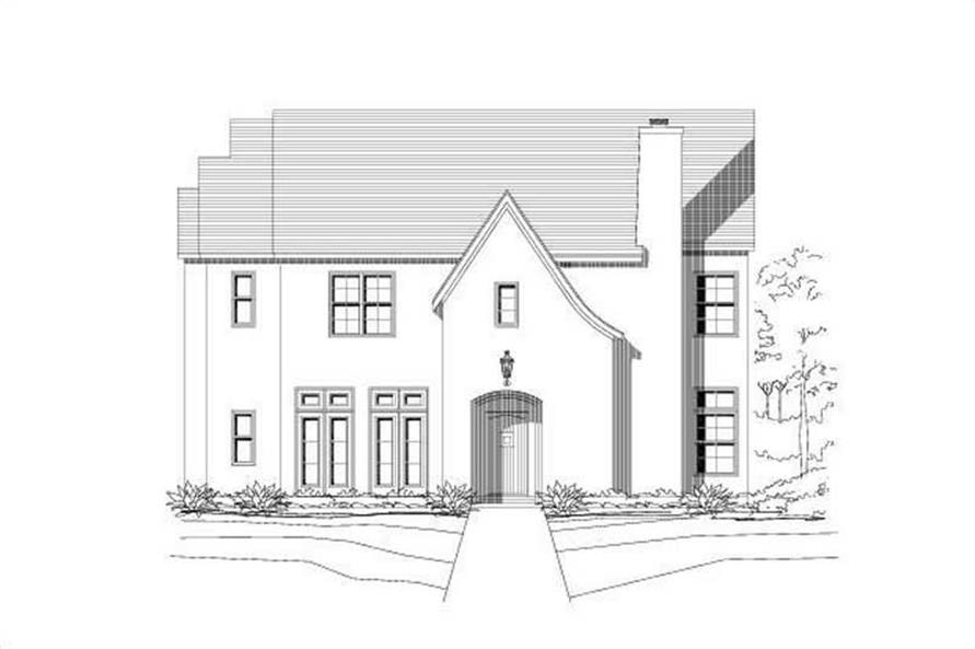 Main image for house plan # 19182