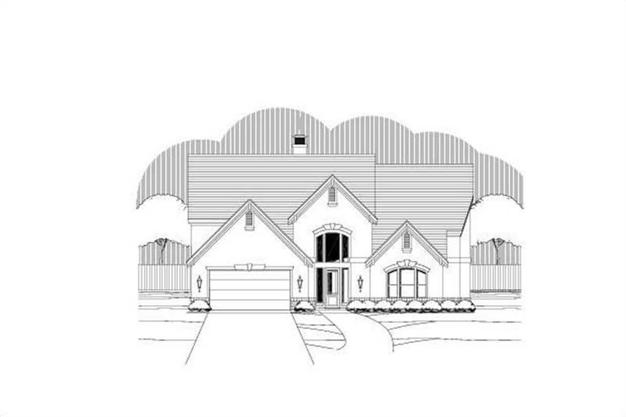 Main image for luxury house plan # 19423