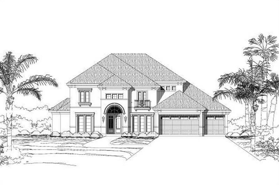 Main image for house plan # 19425
