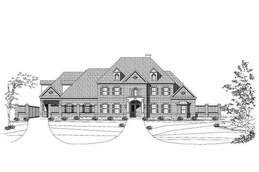 Main image for house plan # 19209
