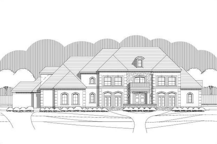 Main image for luxury house plan # 19297