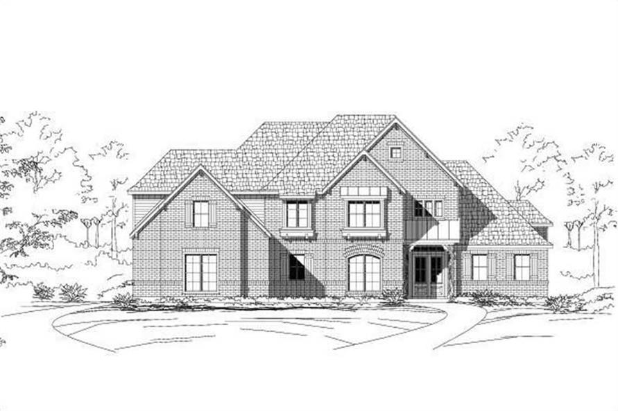 Main image for house plan # 19301