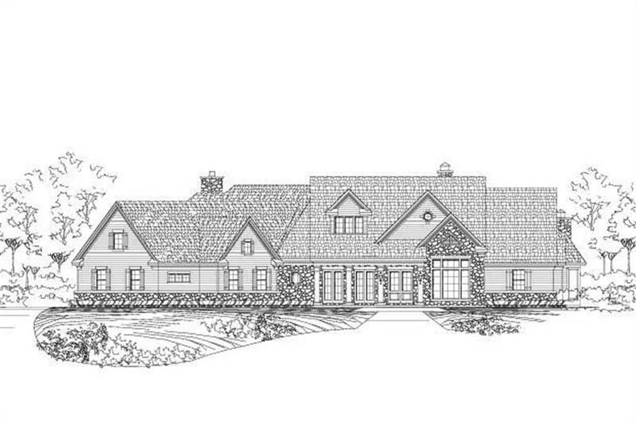 Main image for luxury house plan # 19239