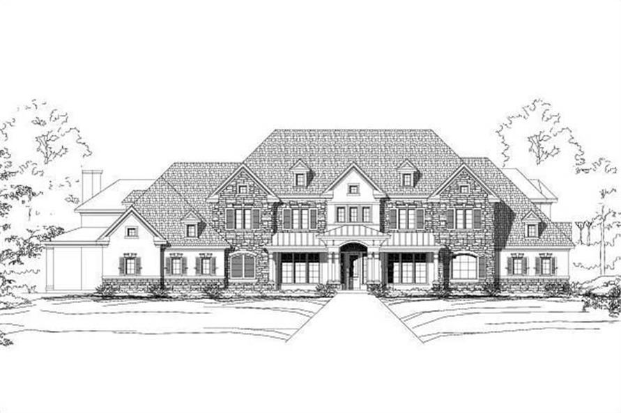 Main image for house plan # 19300