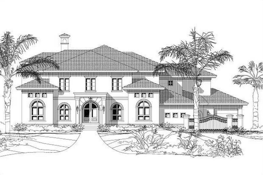 Main image for house plan # 19334