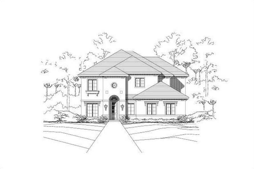 Main image for house plan # 19296