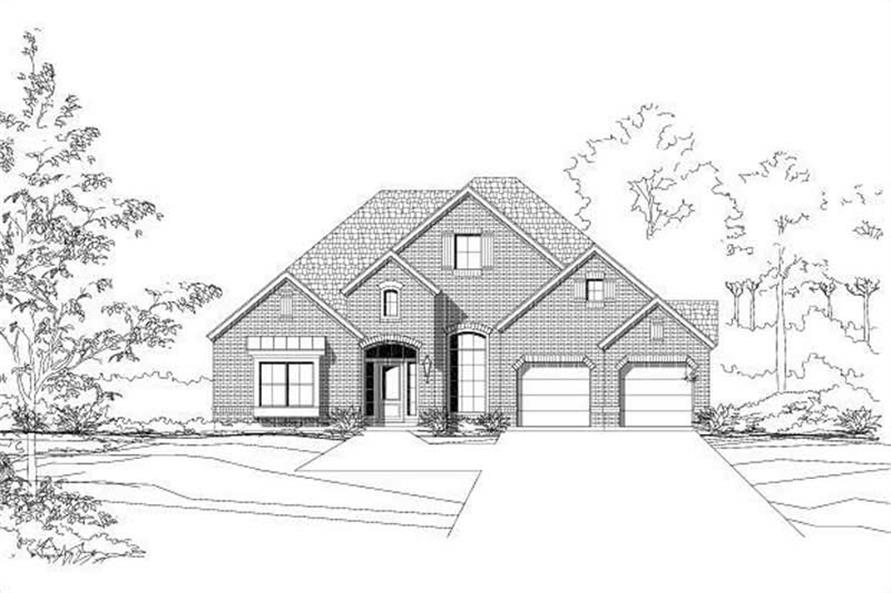Main image for house plan # 15048