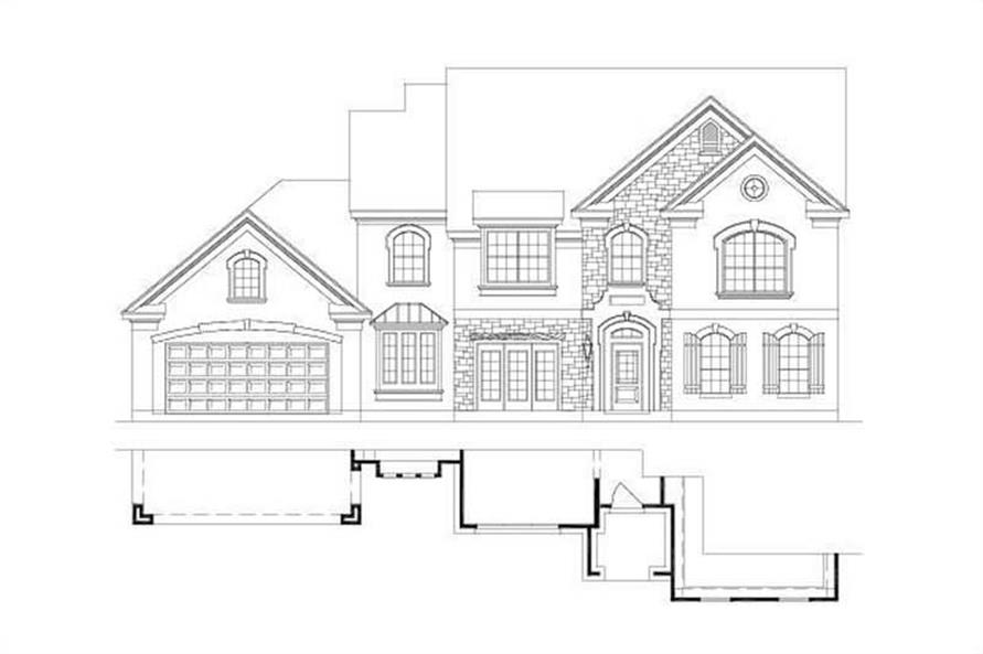 Main image for house plan # 15151