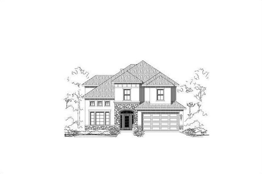 Main image for house plan # 15312