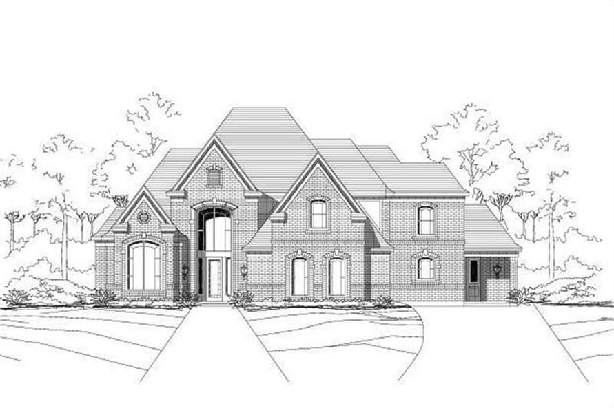 Main image for house plan # 15476