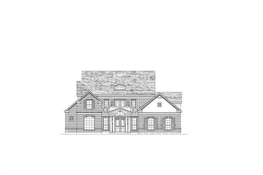 Main image for house plan # 15444