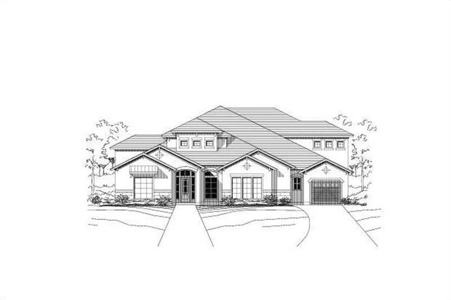 Main image for house plan # 15353
