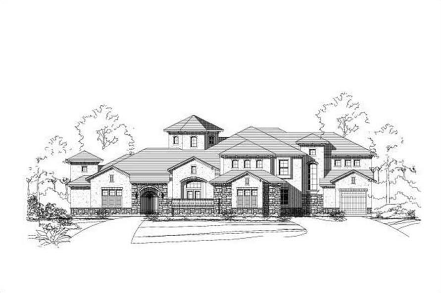 Main image for house plan # 15356