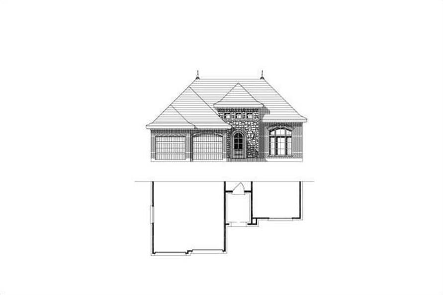 Main image for house plan # 15357