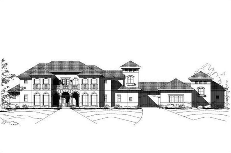 Main image for house plan # 15360