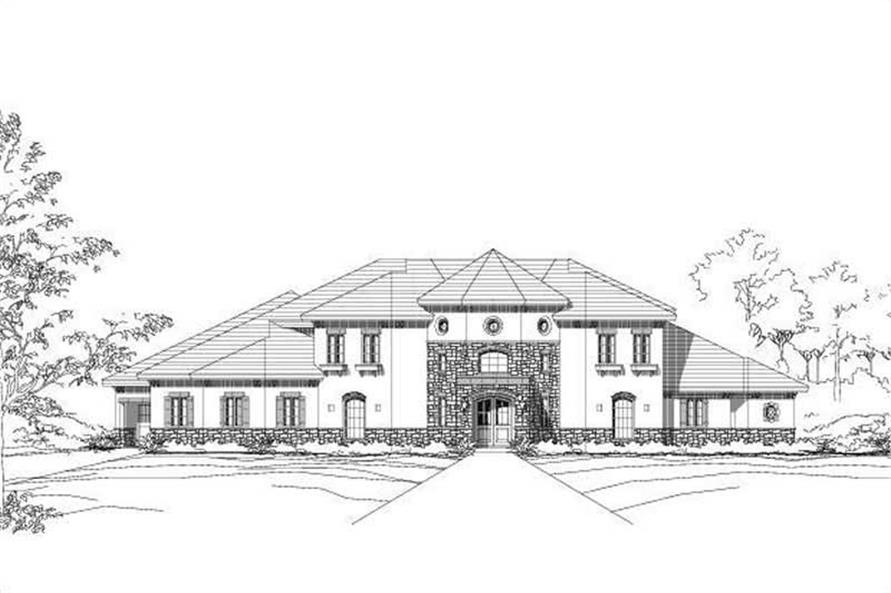 Main image for house plan # 15361