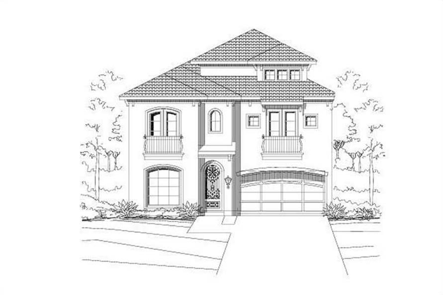 Main image for house plan # 15212
