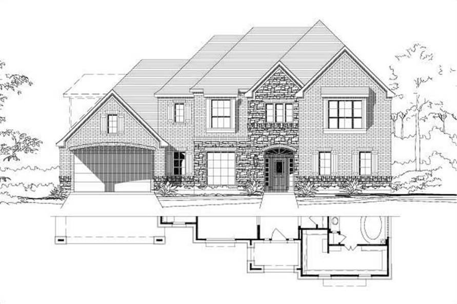 Main image for house plan # 15401