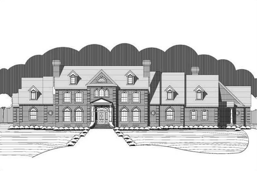 Main image for house plan # 15402