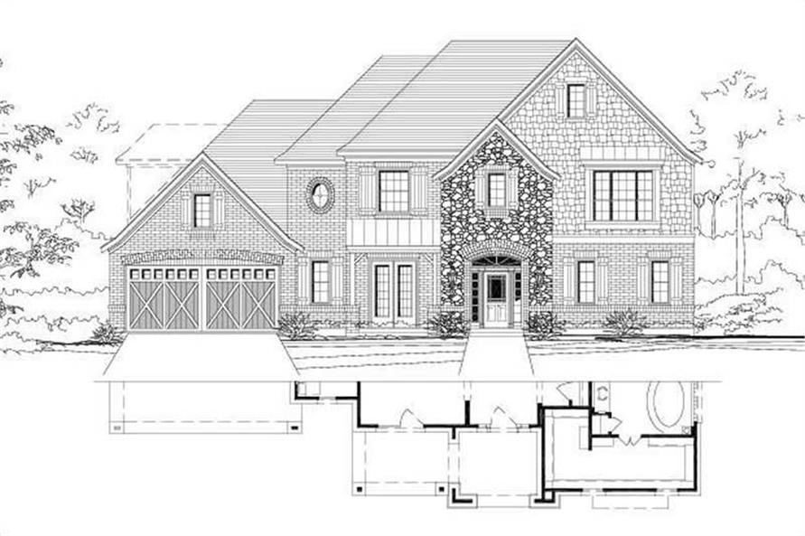 Main image for house plan # 15403