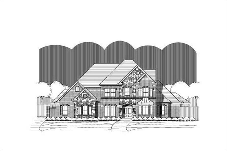 Main image for house plan # 15404