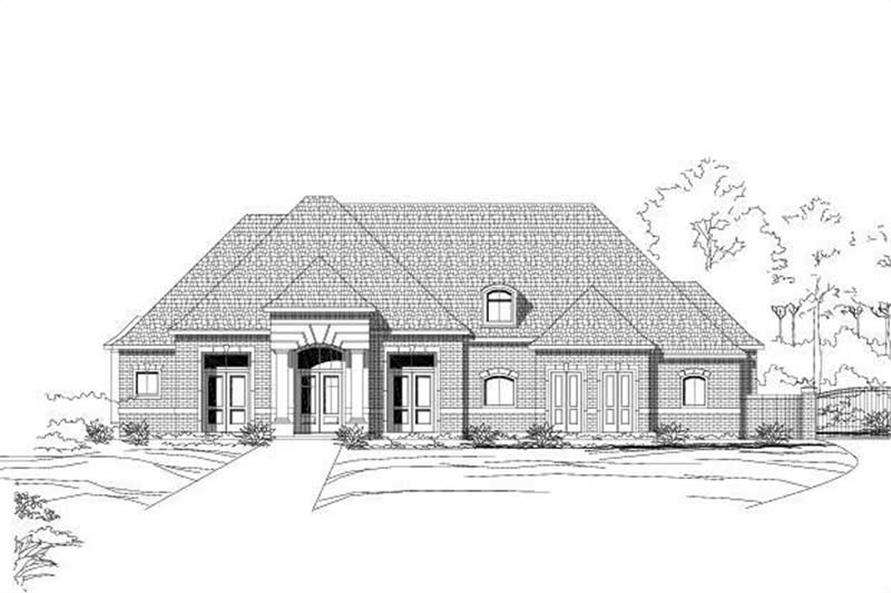 Main image for house plan # 15425
