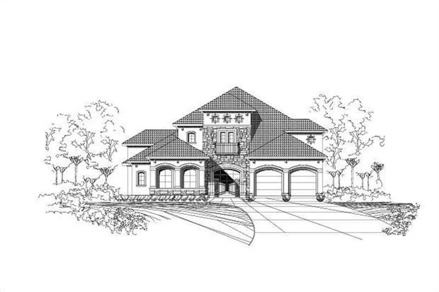 Main image for house plan # 15432