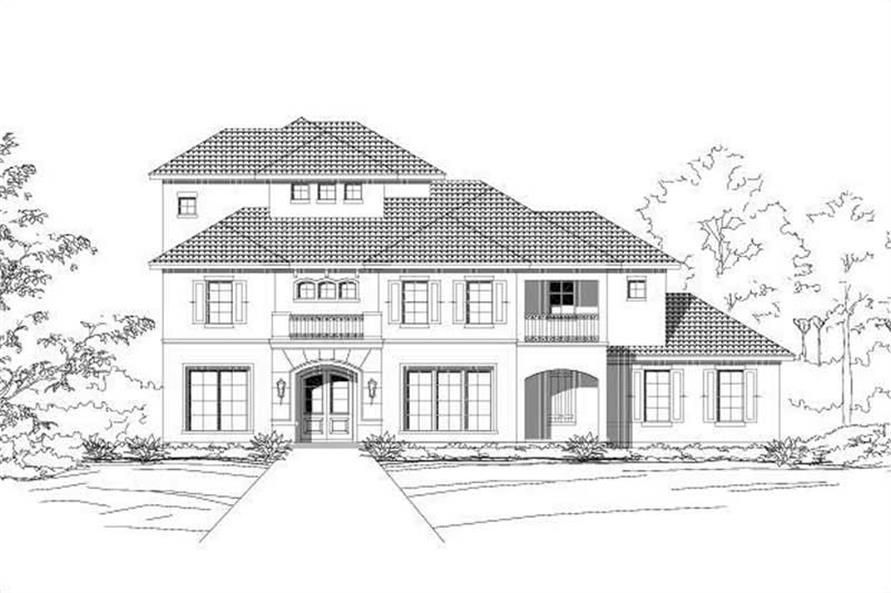 Main image for house plan # 15473