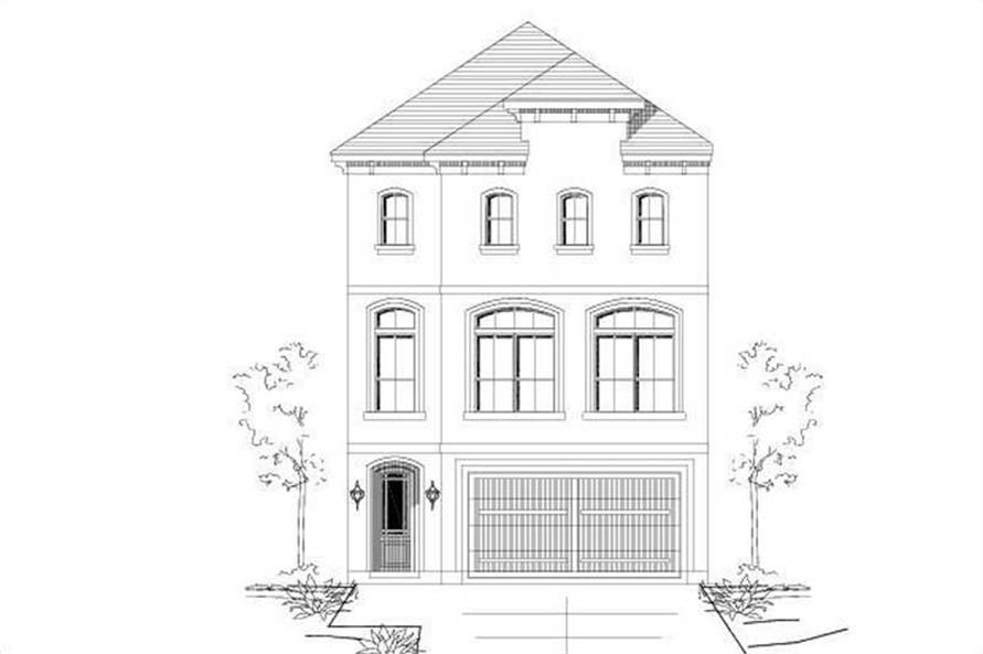 Main image for house plan # 15203