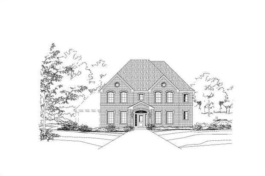 Main image for house plan # 15488