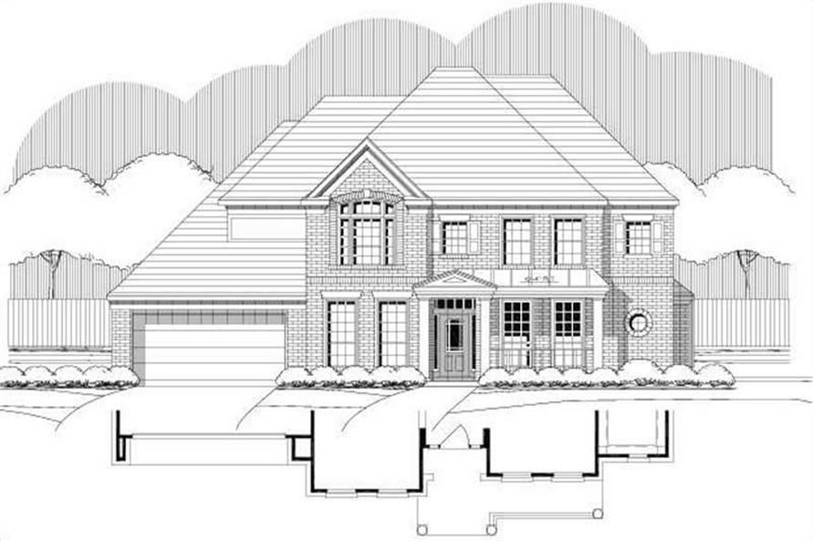 Main image for house plan # 15196