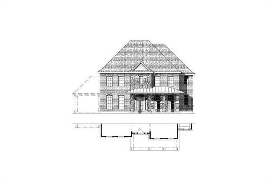 Main image for house plan # 15485