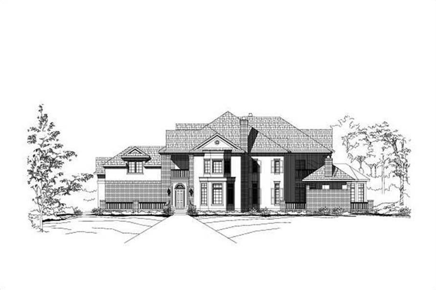 Main image for house plan # 15240