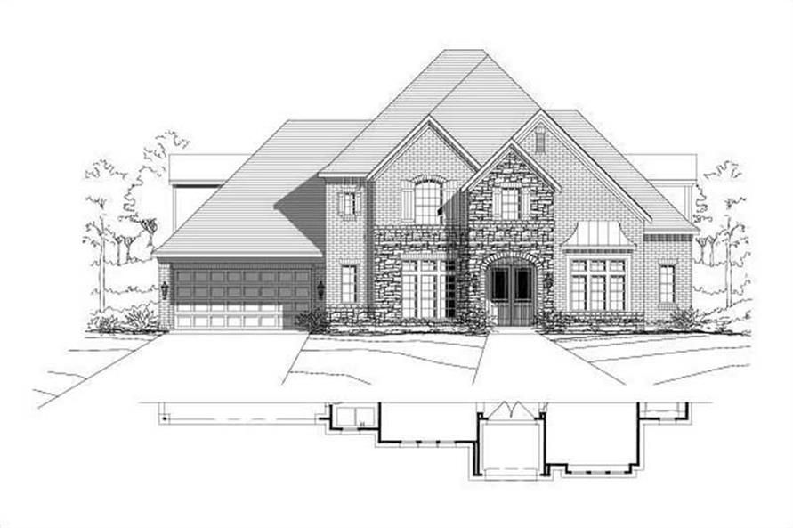 Main image for house plan # 15459