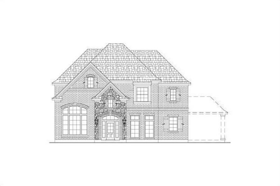 Main image for house plan # 15465