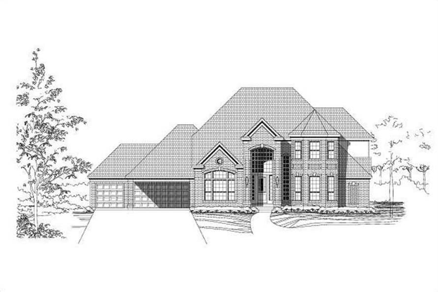 Main image for house plan # 15213