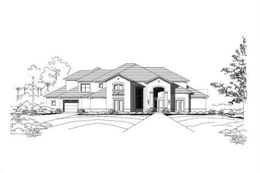 Main image for house plan # 15241
