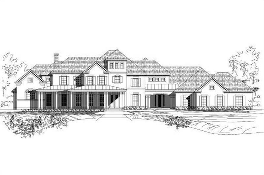 Main image for house plan # 15234