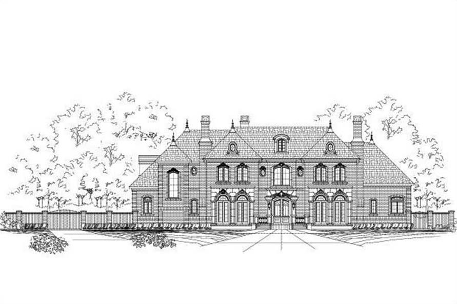 Main image for house plan # 15233