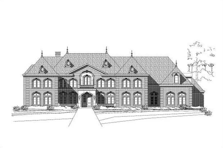 Main image for house plan # 15251
