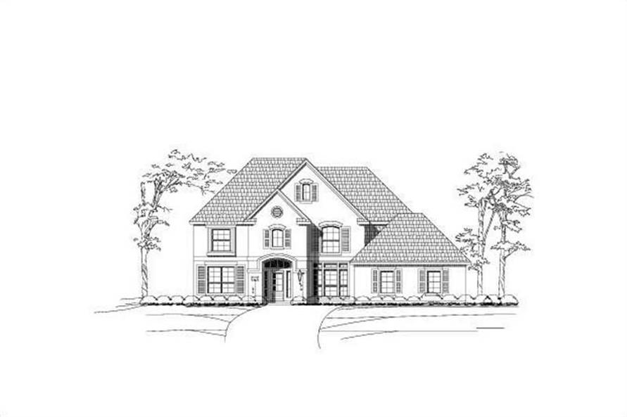 Main image for house plan # 15219