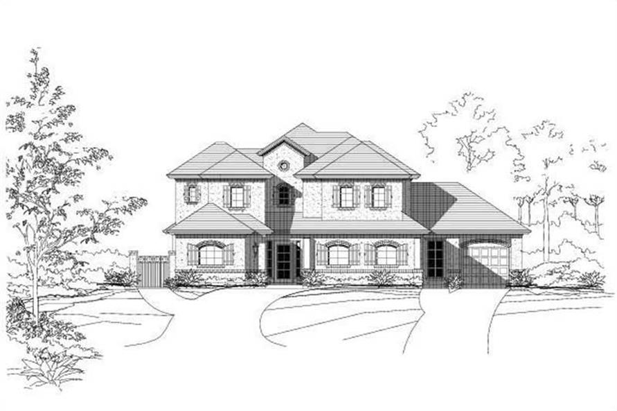 Main image for house plan # 15249
