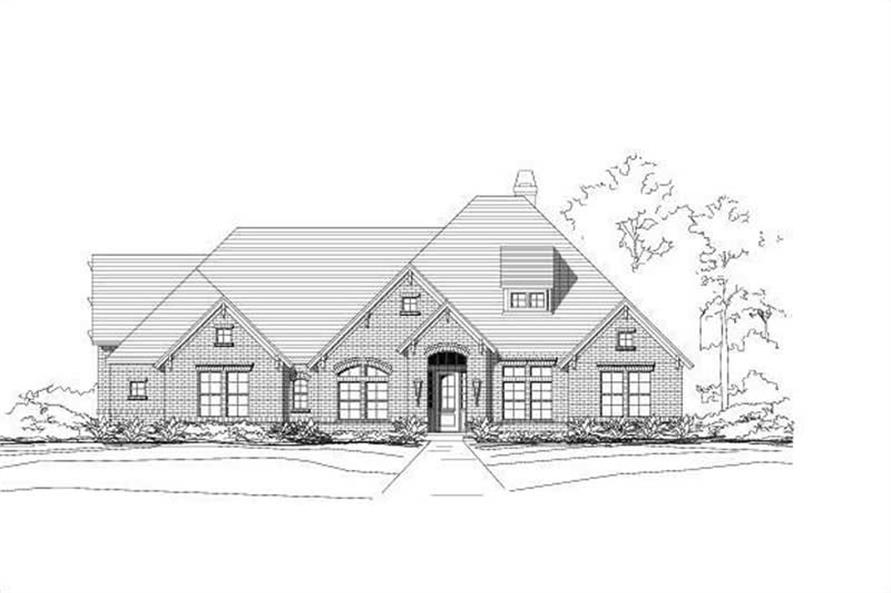 Main image for house plan # 15273